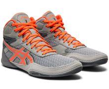 Zápasnické boty Asics Matflex 6 šedo-oranžová