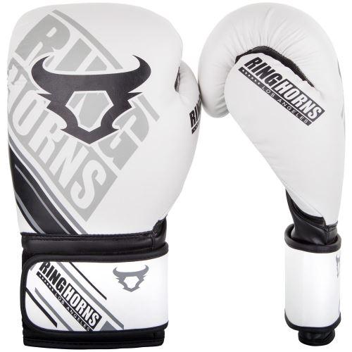 Boxerské rukavice RingHorns Nitro bílá