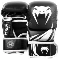 MMA rukavice Venum Challenger 3.0 Sparring černo-bílá