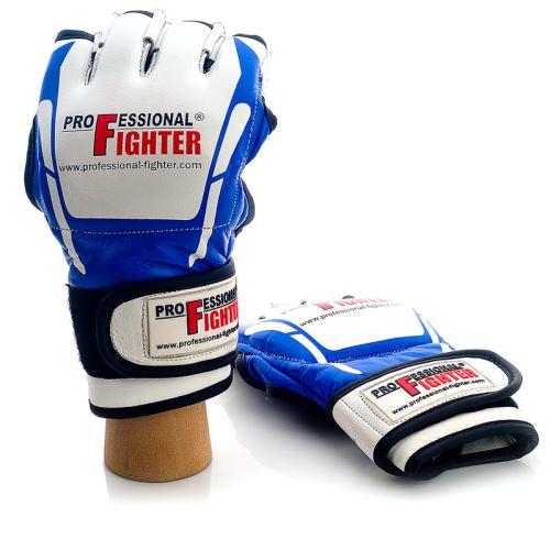MMA rukavice Modern Professional Fighter modrá