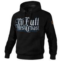 Mikina Pitbull West Coast Skull Dog 18 černá