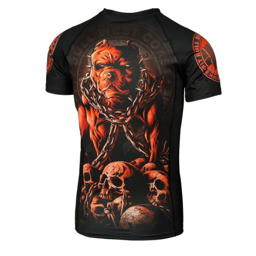 Rashguard Pitbull SKULL DOG