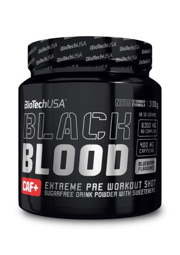 BioTech USA Black Blood CAF+ 300g - cola