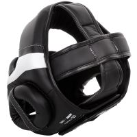 Chránič hlavy Venum Elite černo-bílá 3
