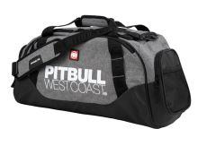 Sportovní taška Pitbull West Coast TNT černo/šedá