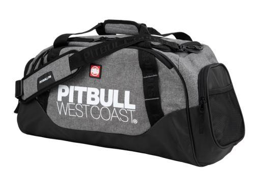 Sportovní taška Pitbull West Coast TNT černo-šedá
