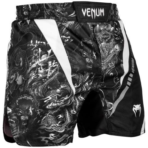MMA šortky Venum Arts černo-bílá