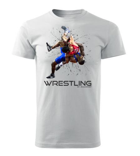Tričko Wrestling Forever bílá