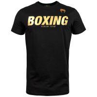 Tričko Venum VT Boxing černo-zlatá