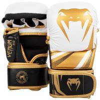 MMA rukavice Venum Challenger 3.0 Sparring bílo-zlatá