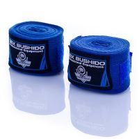 Boxerská omotávka DBX BUSHIDO 4m modrá
