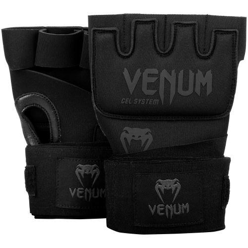 Gelové bandáže Venum matná černá