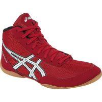 Zápasnícke topánky Asics Matflex 5, detské, červená
