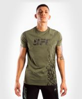 Pánské tričko UFC Venum Authentic Fight Week khaki