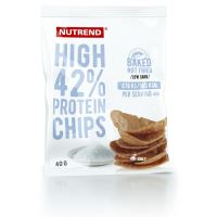 Nutrend High Protein chips 40g sůl