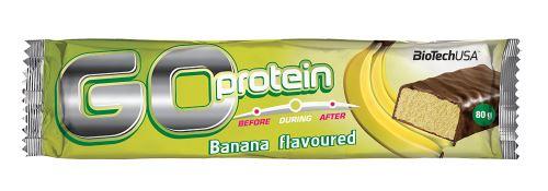 BioTech USA Go Protein Bar 80g - banán