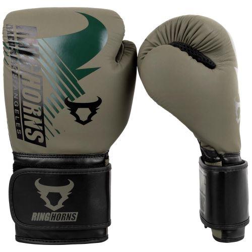 Boxerské rukavice RingHorns Charger MX zelená