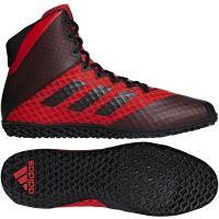 Zápasnické boty Adidas Mat Wizard 4 červeno-černá