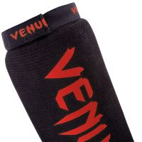 Chrániče holení a nártu Venum Kontact černo-červená 4