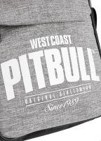 Pánská taška přes rameno Pitbull West Coast SINCE 1989 šedo-černá 3