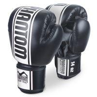 Boxerské rukavice PHANTOM MT-PRO černo/bílé