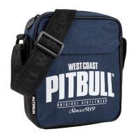 Pánská taška přes rameno Pitbull West Coast SINCE 1989 tmavě modro-černá