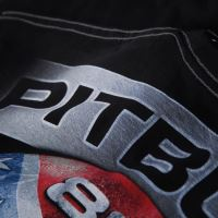 Tričko Pitbull West Coast Skull Rebell 18 cerne 3