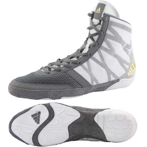 Zápasnické boty Adidas Pretereo 3 šedo-bílá