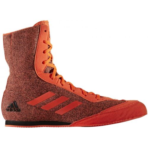 Boxerské boty Adidas Box Hog Plus červená