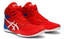 Zápasnické boty Asics Matflex 6 dětské červeno-modrá