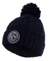 Dámská zimní čepice Pitbull West Coast Beanie Snow Crew tmavě modrá
