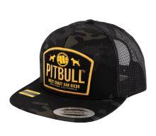 Snapback Pitbull West Coast DOGS all black
