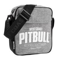 Pánská taška přes rameno Pitbull West Coast SINCE 1989 šedo-černá