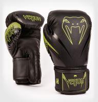 Boxerské rukavice Venum Impact černá/neo žlutá