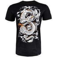 Tričko Venum Dragons Flight černo-bílá