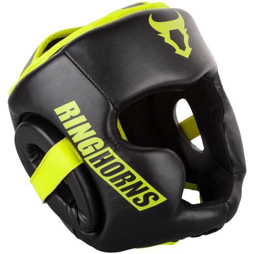 Chránič hlavy Ringhorns Charger černo - Neo žlutá