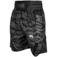 Boxerske šortky Venum Elite Urban Camo - černá