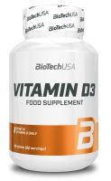 BioTech USA Vitamin D3 50mcg 60 tablet