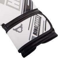 Boxerské rukavice RingHorns Nitro bílá 4