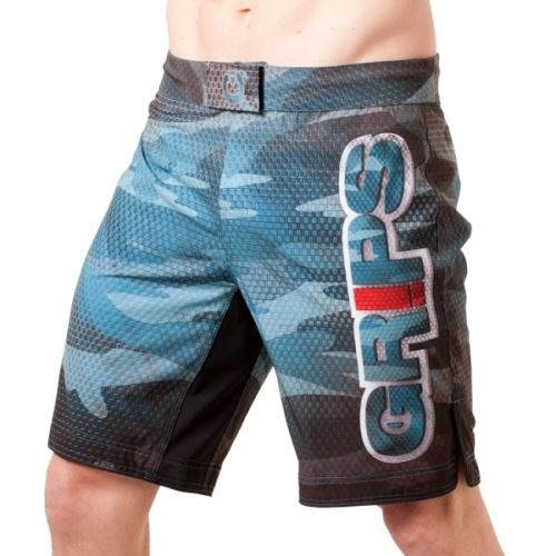 MMA šortky Grips Carbon Army