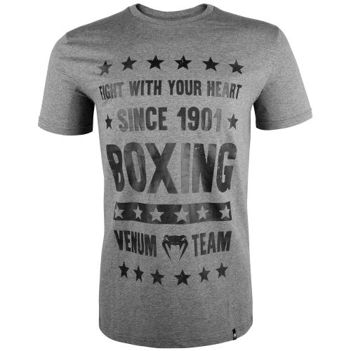 Tričko Venum Boxing Origins šedá